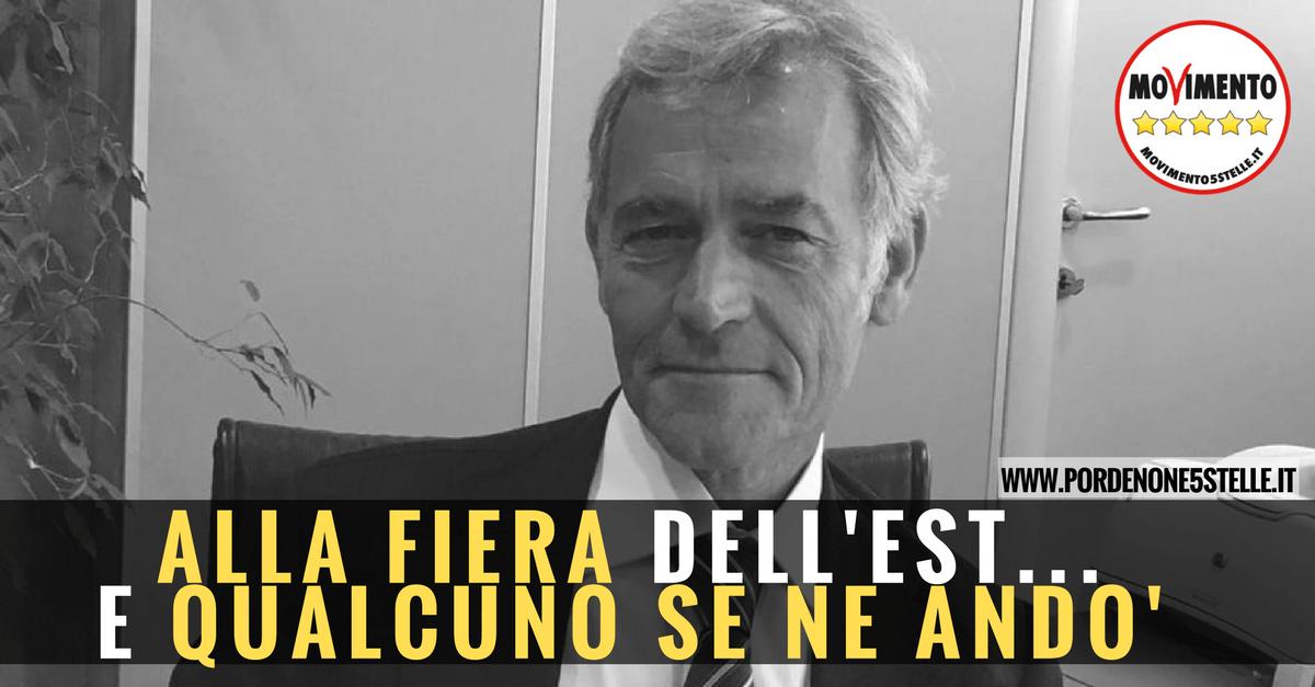 You are currently viewing SUCCESSO DEL M5S DI PORDENONE: ADDIO DI PICCINETTI A PORDENONE FIERE, GIA' A.D. DELLA FIERA DI ROMA.