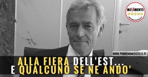 SUCCESSO DEL M5S DI PORDENONE: ADDIO DI PICCINETTI A PORDENONE FIERE, GIA' A.D. DELLA FIERA DI ROMA.