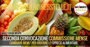 SECONDA CONVOCAZIONE #COMMISSIONEMENSE