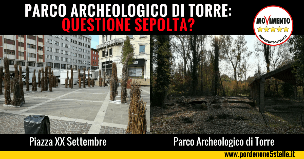 You are currently viewing PARCO ARCHEOLOGICO DI TORRE: QUESTIONE SEPOLTA?