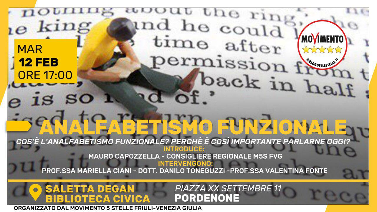 You are currently viewing ANALFABETISMO FUNZIONALE