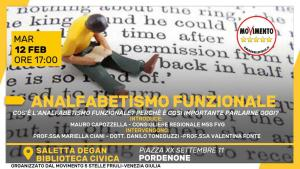 Read more about the article ANALFABETISMO FUNZIONALE
