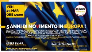 5 Anni di MoVimento in Europa!