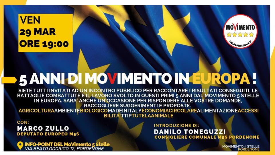5 Anni di MoVimento in Europa!