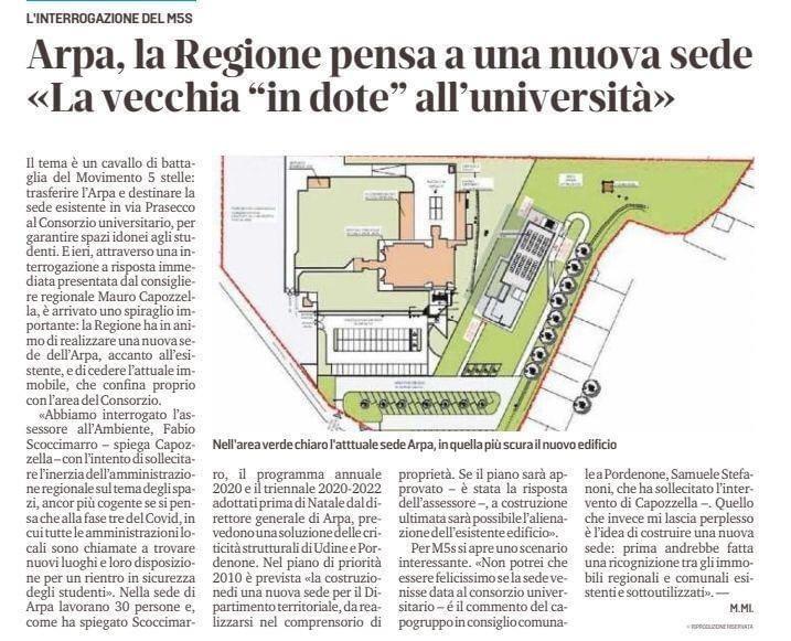 """Stefanoni M5S: Grazie al nostro impegno in Consiglio Comunale e Regionale, abbiamo finalmente """"stanato"""" le intenzioni della Giunta Regionale."""