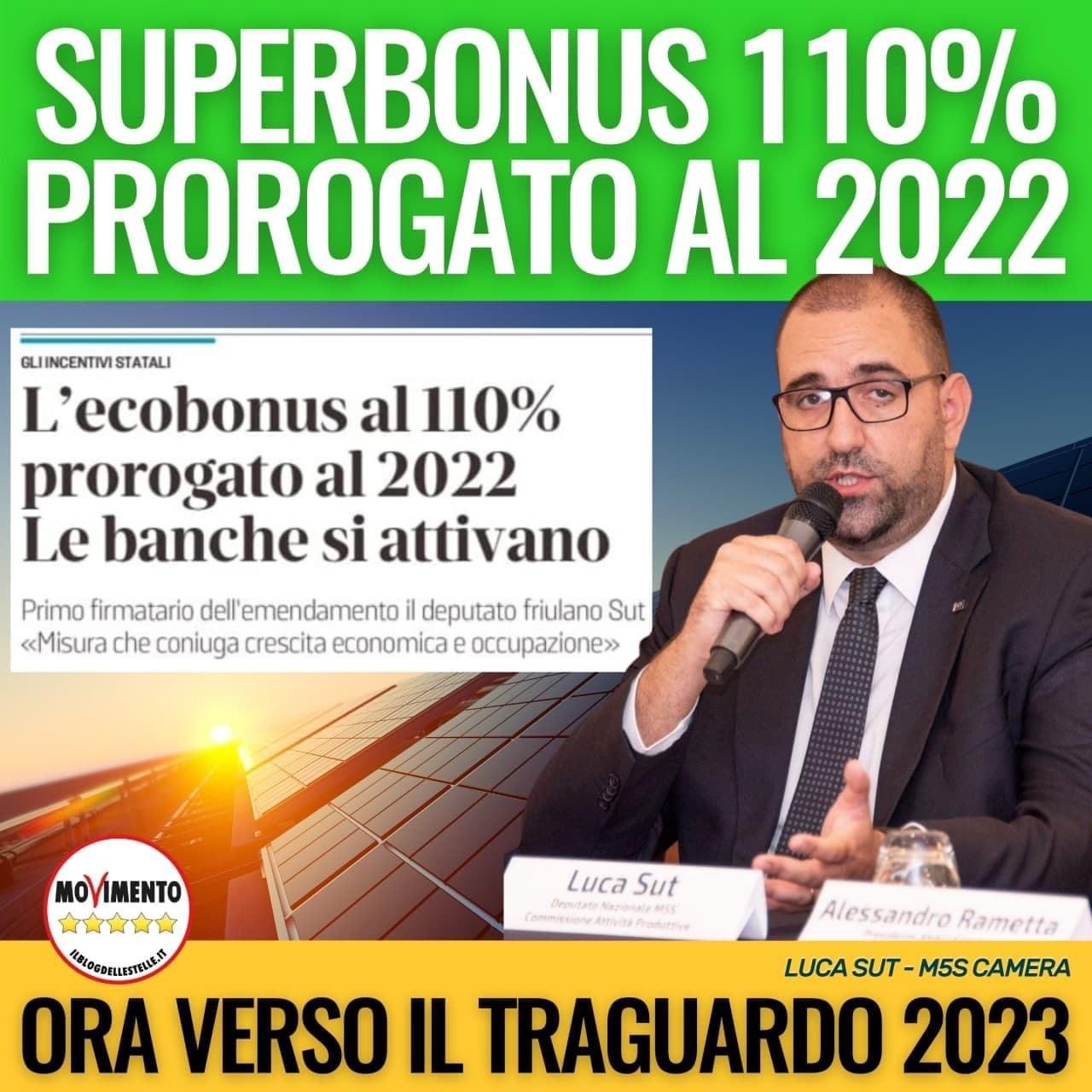 🔴#SUPERBONUS 110%: ECCO LE NOVITA' IN LEGGE DI BILANCIO
