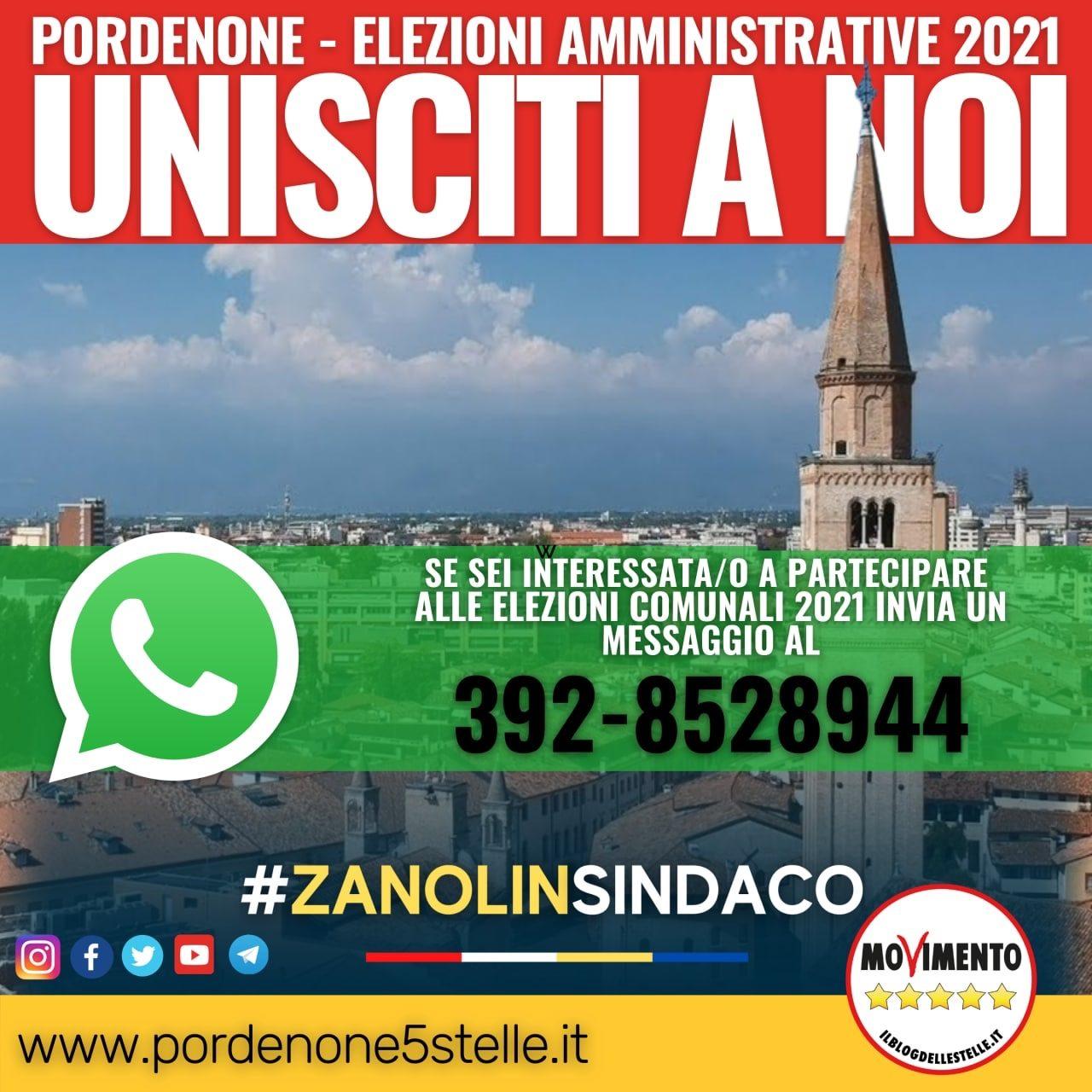 Unisciti a noi per #ZanolinSindaco