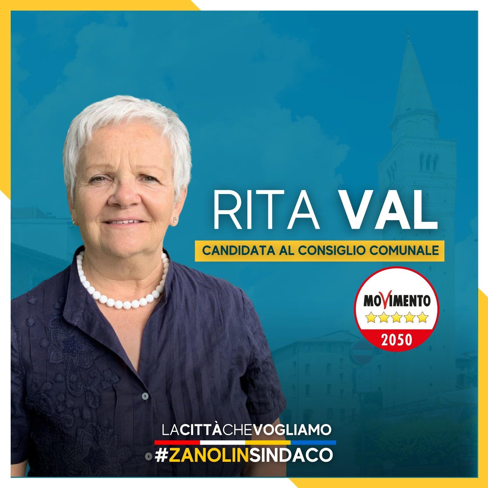 Read more about the article I nostri candidati 2021 – Rita Val