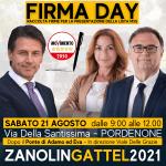 ✍️#FIRMADAY ✍️RACCOLTA FIRME PRESENTAZIONE LISTA M5S ALLE ELEZIONI COMUNALI DI PORDENONE 2021