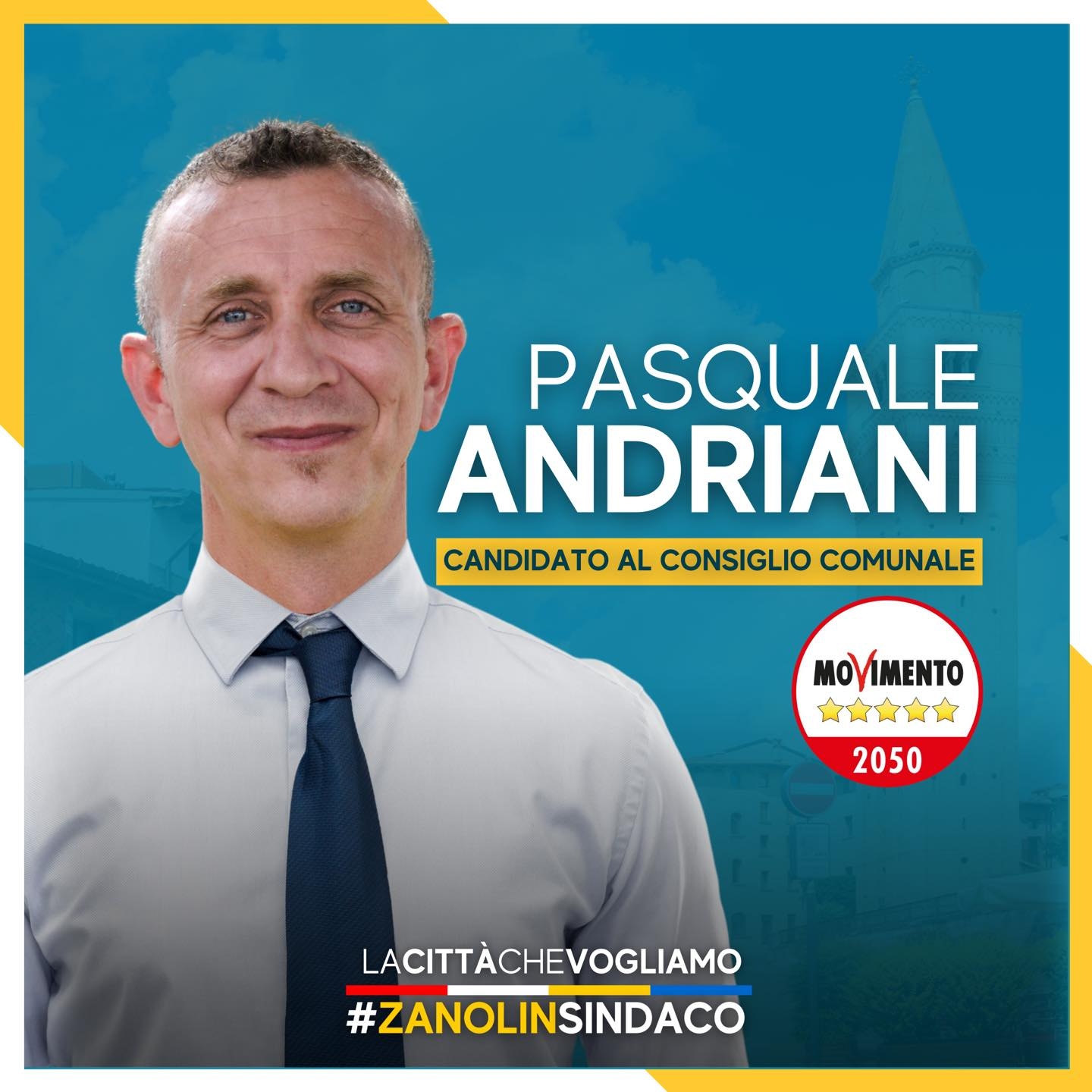 You are currently viewing I nostri candidati 2021 – Pasquale Andriani
