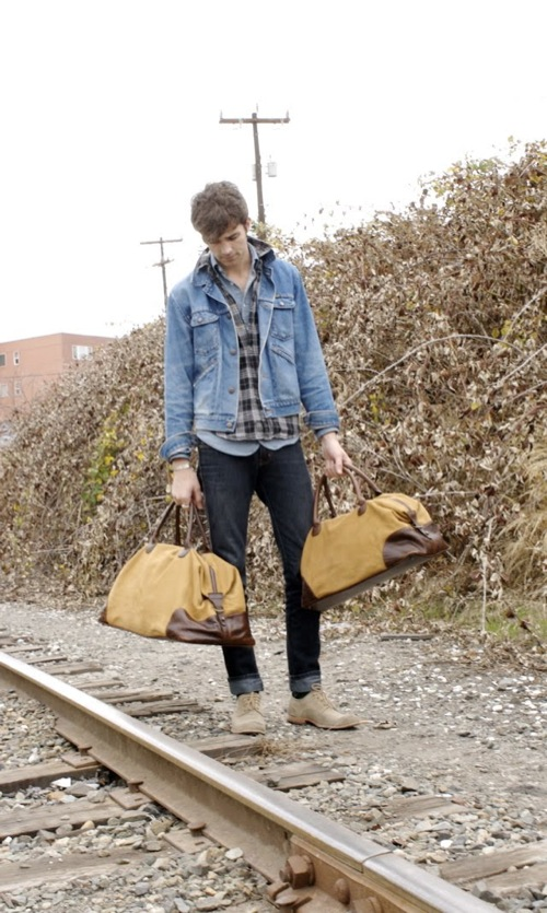 American-Made: Moore & Giles Buffalo Overnight and Weekend Bags