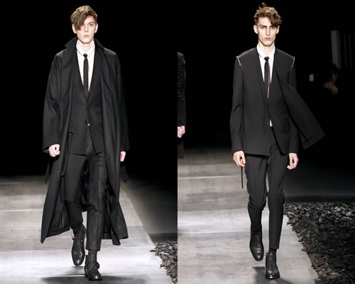 Video: Dior Homme Fall 2010 [Paris Fashion Week]
