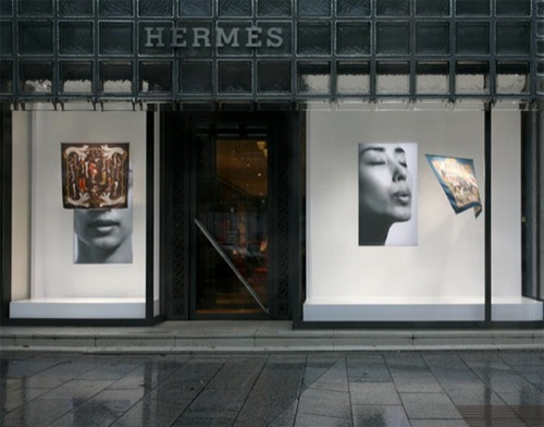 Tokujin Yoshioka for Hermes Window Display