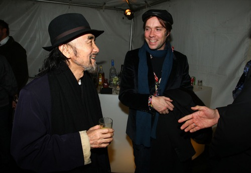 Backstage with Yohji Yamamoto [New York Fashion Week 2010]
