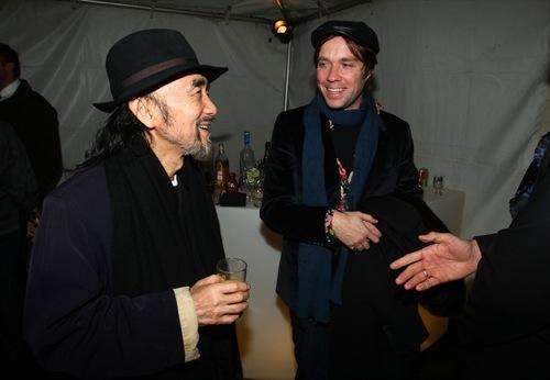 Backstage with Yohji Yamamoto [New York Fashion Week 2010]