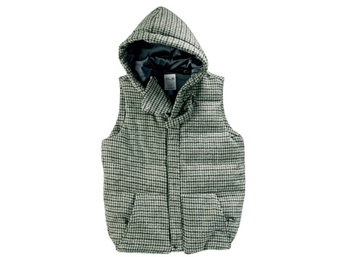 adidas ObyO David Beckham Harris Tweed Down Vest