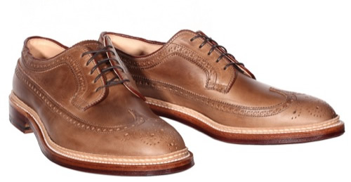 Alden for Epaulet Natural Chromexcel Longwing