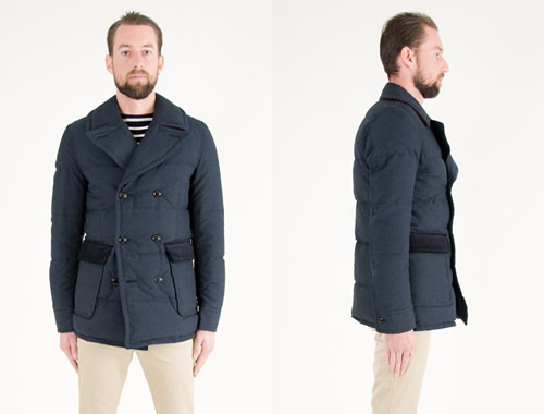The Want | Junya Watanabe Man Down Pea Coat