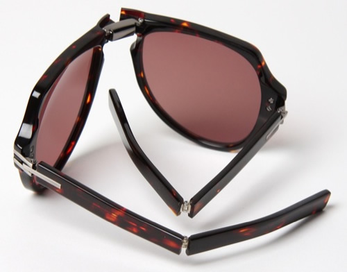 Linda Farrow x Tim Hamilton Folding Sunglasses