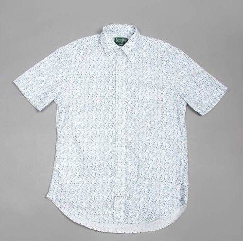 Gitman Bros. Floral Print Short Sleeve Shirt