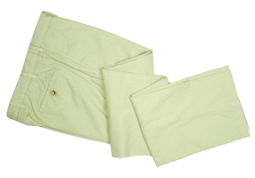 Summer Essential | Howard Yount Garment Dyed Gabardine Pants