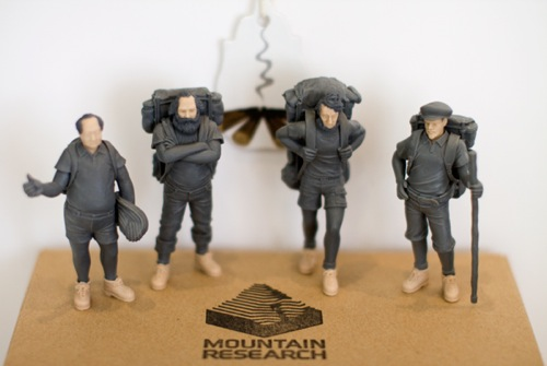 Mountain Research | 'Mountain Men' Action Figures
