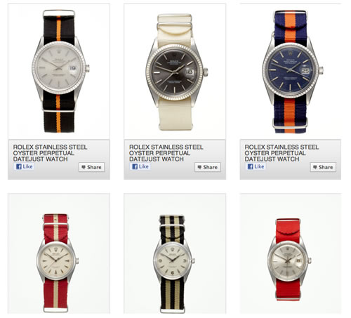 Hodinkee for GiltMAN | Vintage Rolex Watches on NATO Straps
