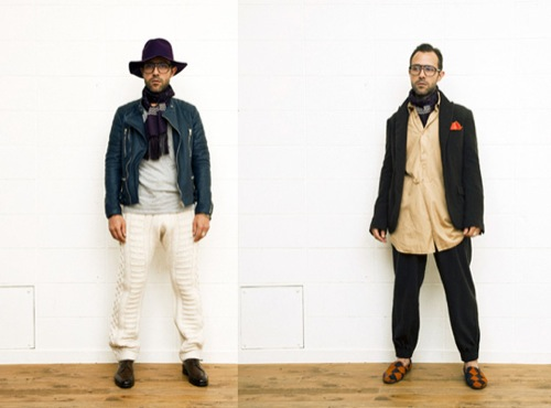 Unused Fall/Winter 2011 Lookbook