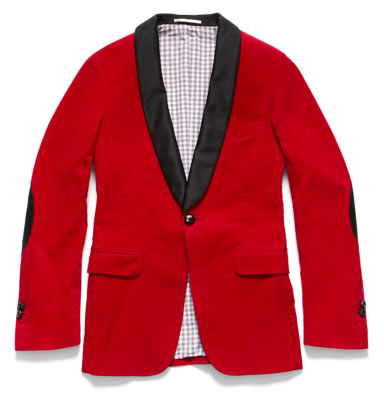 GANT by Michael Bastian Corduroy Smoking Jacket, Fall 2011