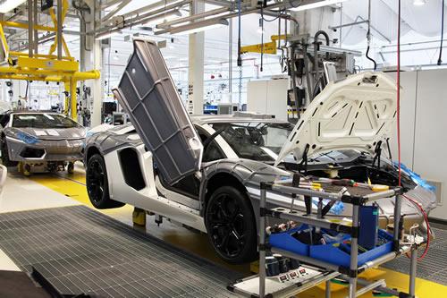 Inside Look Lamborghini S Sant Agata Bolognese Italy Factory