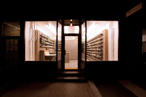 Now Open | Aesop New York