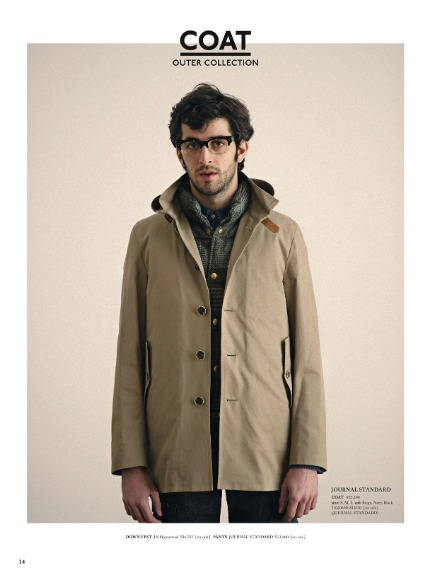Journal Standard Fall/Winter 2011 Outer Collection