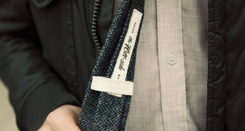 Of a Kind x The Hill-Side Tweed Tie