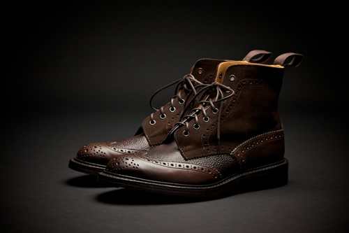 Superdenim x Tricker's Fall/Winter 2011 Footwear Collection