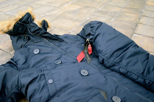 Alpha Industries N-3B Slim Fit Parka 50th Anniversary