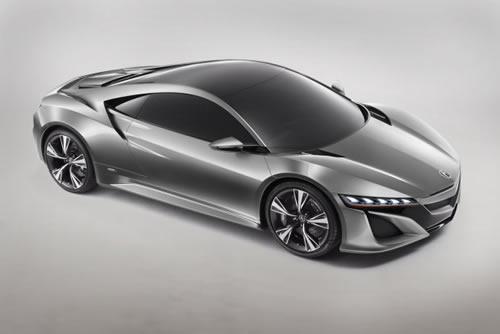 Acura NSX Hybrid Concept Car at Detroit Auto Show