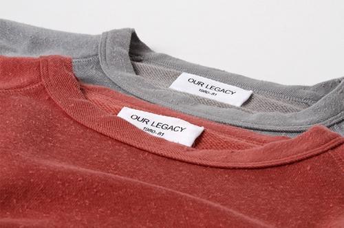 Our Legacy Great Sweats for Spring/Summer 2012