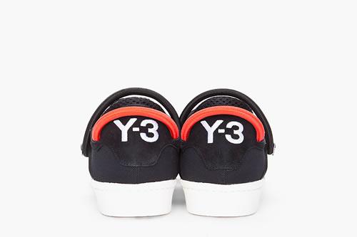 Y-3 Black Cord Lace Sneaker Spring/Summer 2012