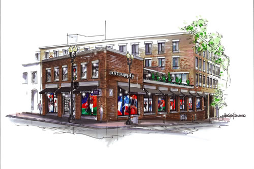 First Look | Suitsupply Washington D.C. Flagship Store