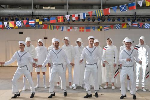 MFW   Moncler Gamme Bleu Men's Spring/Summer 2013