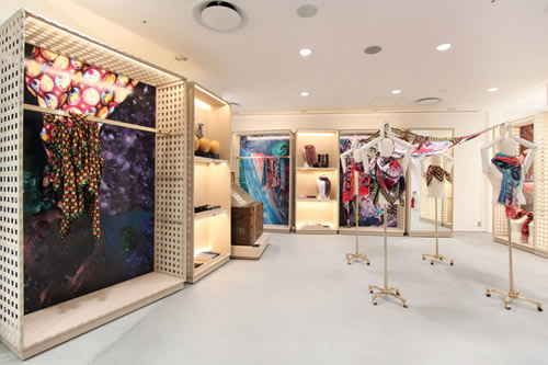 Louis Vuitton Foulards d'Artistes Scarf Collection at Dover Street Market Ginza