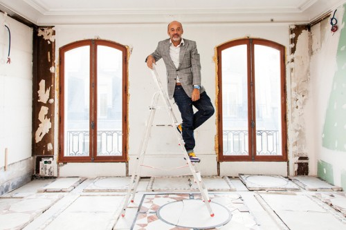 The Selby | Christian Louboutin At His Home and Studio in Paris