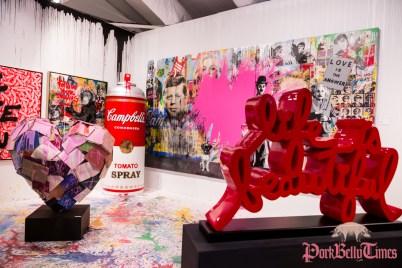 Mr. Brainwash - Art Miami 2014 © Steven D Morse - morsefoto.com