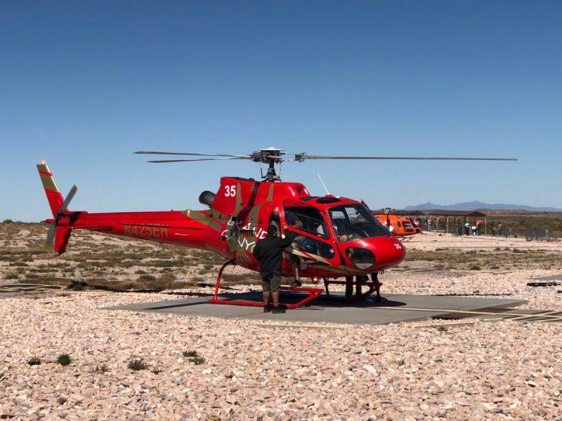 Helicoptero Gran Cañon