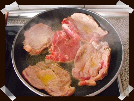 Freímos la carne
