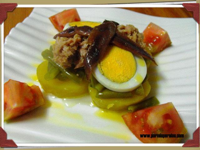 Ensalada Niçoise o ensalada nizarda (a mi manera)