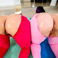 Two Huge Booties Are Better Than One Bangbros