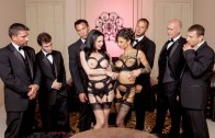 The Secret Soiree Six-Man Gangbang – Bonnie Rotten and Veronica Avluv