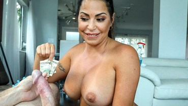 Cleaning Up The House And The Hard Cock – Julianna Vega