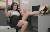 Alice Visby Rules The Office Culture With Her Slutty Actions – Alice Visby